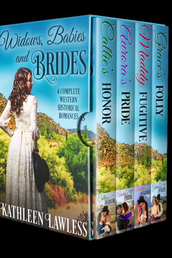 Widows, Babies and Brides box set - 4 novels by Kathleen Lawless