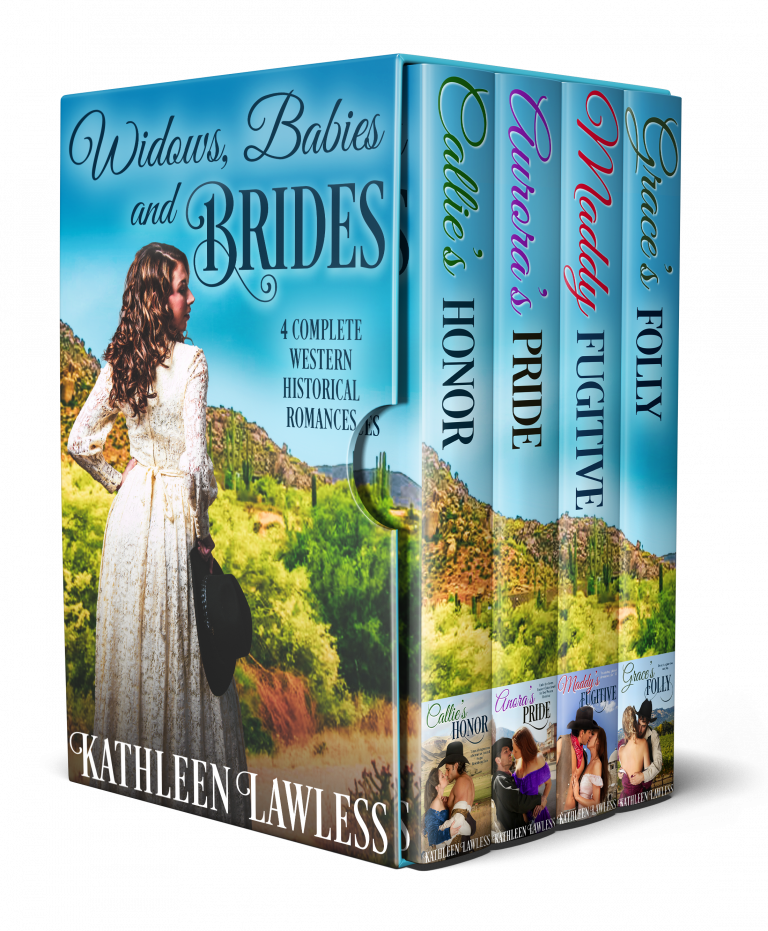 Widows, Babies and Brides: 4 Complete Western Historical Romances
