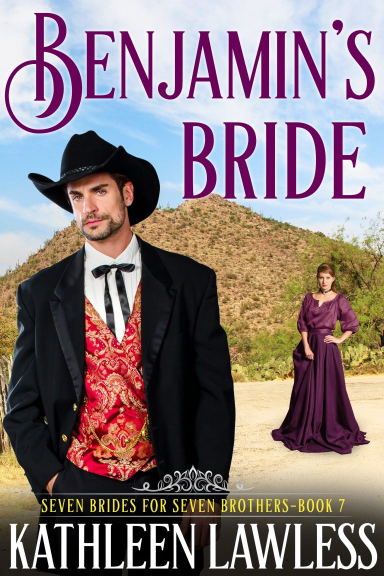 Benjamin's Bride: A Friends to Lovers Sweet Historical Western Romance (Seven Brides for Seven Brothers Book 7)
